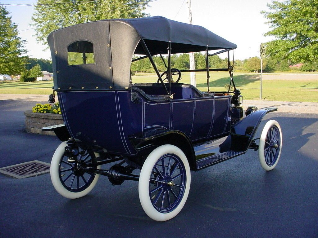 2010 Mustang Convertible For Sale >> Beautifully Restored 1913 Ford Model T Touring Car