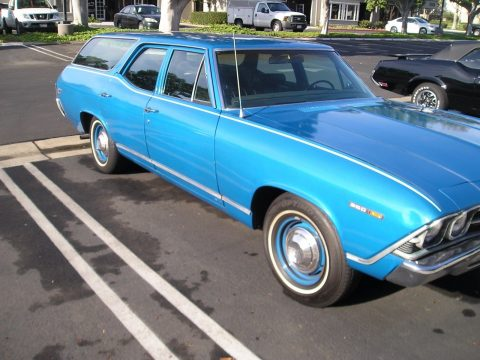 1969 Chevrolet Chevelle Concours Wagon Original California Survivor for sale