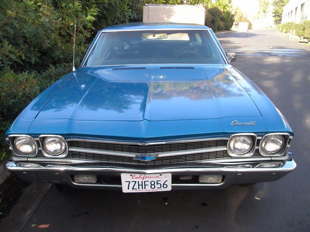 1969 Chevrolet Chevelle Concours Wagon Original California Survivor ...